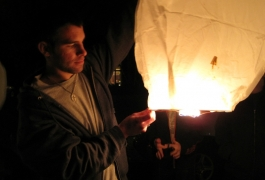 Fun With Sky Lanterns 2