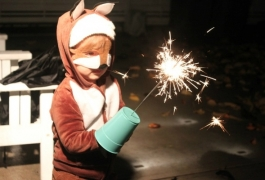 Fun With Sparklers 3