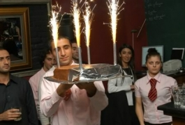 Birthday Cake Sparklers 2