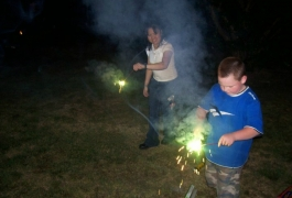 Fun With Sparklers 4