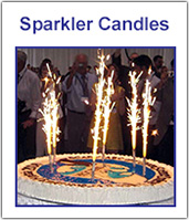 Birthday Candle Sparklers