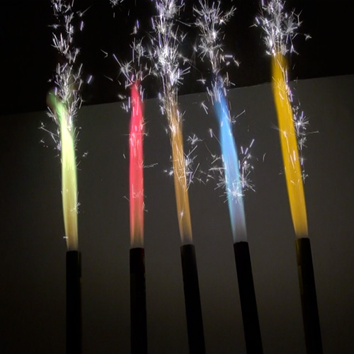 Color Birthday Candle Sparklers