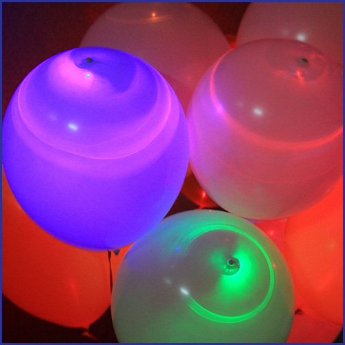 LED wedding balloons