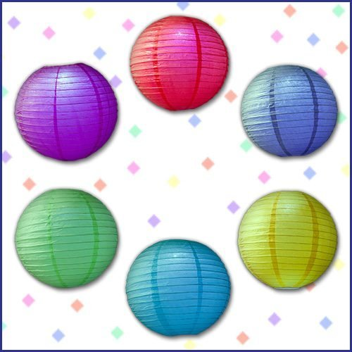 Color LED Party Lanterns image